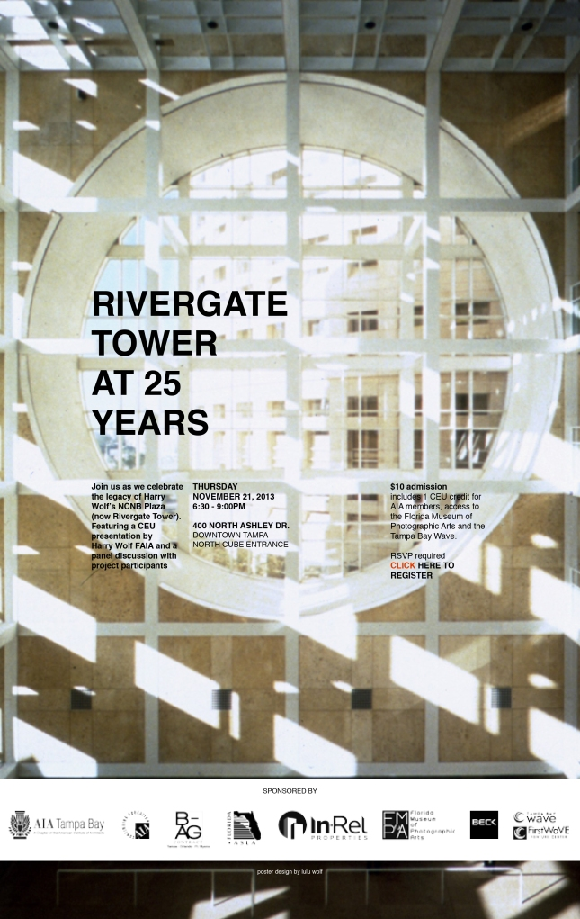RIVERGATE TOWER AT 25 ANNOUNCEMENT